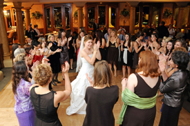 Fun Music and Dancing at Tempe Wedding Reception